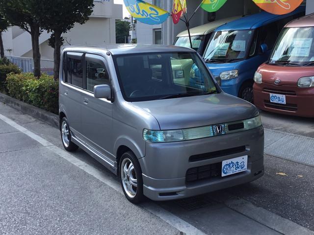 沖縄の中古車 ホンダ ザッツ 車両価格 18.6万円 リ済別 2004(平成16)年 7.4万km ガンM