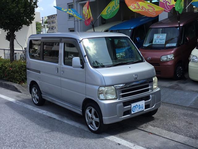 沖縄県の中古車ならバモス ターボ