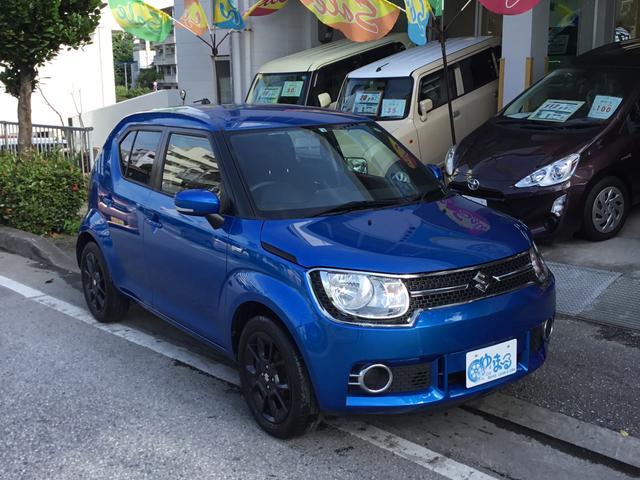 沖縄県の中古車ならイグニス ハイブリッドMX・ワンオーナー車・記録簿・保証2年付き