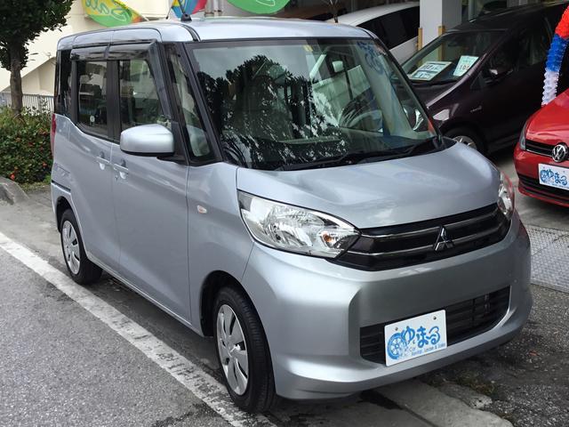沖縄県浦添市の中古車ならeKスペース E 4WD・フルセグ対応ナビ・ETC・記録簿・UVカットガラス・プライバシーガラス・ロング保証付き