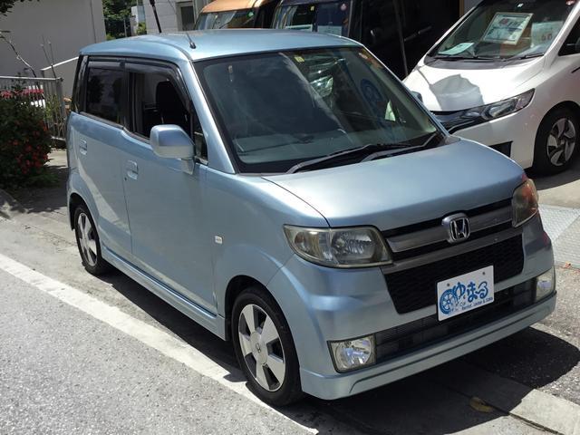沖縄の中古車 ホンダ ゼスト 車両価格 19.8万円 リ済別 2007(平成19)年 14.6万km ライトブルー