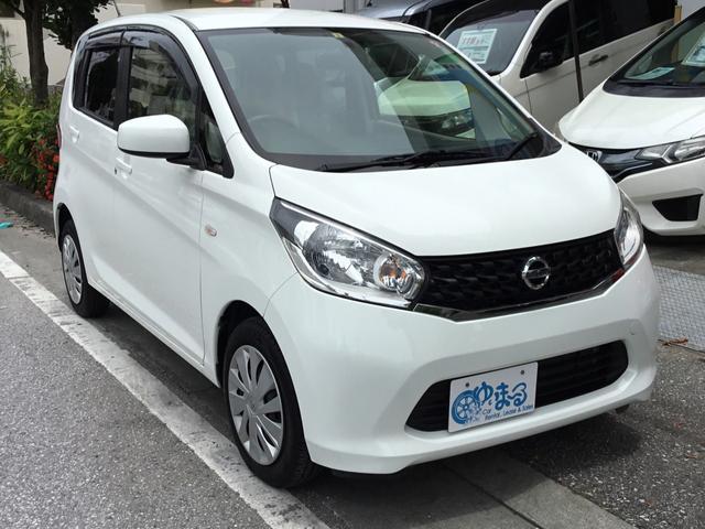 沖縄県浦添市の中古車ならデイズ J 衝突安全ボディ・UVカットガラス・プライバシーガラス・キーレスキー・ロング保証付き