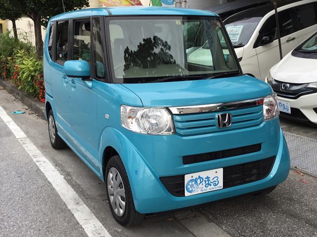 沖縄県の中古車ならN-BOX+ G ナビ・ETC・保証付き・レンタカーアップ車