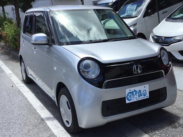 沖縄県の中古車ならN-ONE G 2年車検整備付き・UVカットガラス・プライバシーガラス