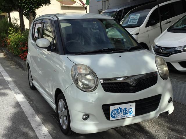 沖縄の中古車 スズキ MRワゴン 車両価格 28.6万円 リ済別 2007(平成19)年 9.6万km パール