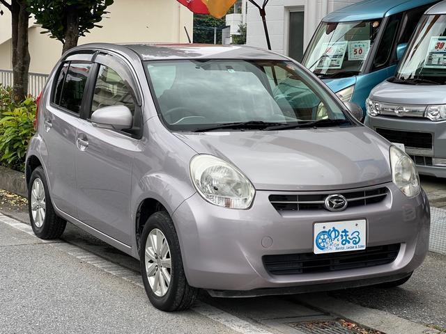 沖縄の中古車 ダイハツ ブーン 車両価格 19.8万円 リ済別 2012(平成24)年 9.9万km ピンク