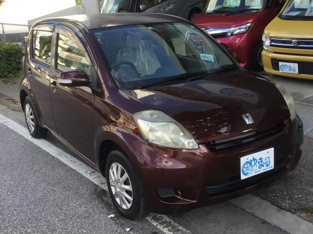沖縄の中古車 トヨタ パッソ 車両価格 16.8万円 リ済別 2008(平成20)年 9.2万km マルーンブラウンマイカ