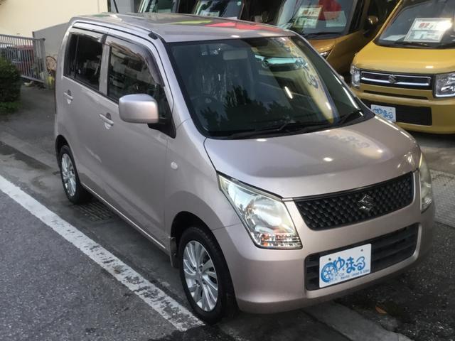 沖縄県浦添市の中古車ならワゴンR FX 純正アルミホイール・UVカットガラス・プライバシーガラス・盗難防止システム・保証付き
