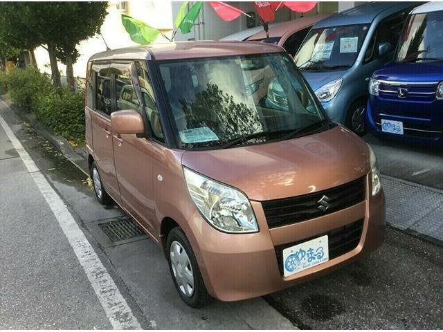 沖縄県浦添市の中古車ならパレット G ナビ・テレビ・ETC・UVカットガラス・プライバシーガラス・盗難防止システム・保証付き