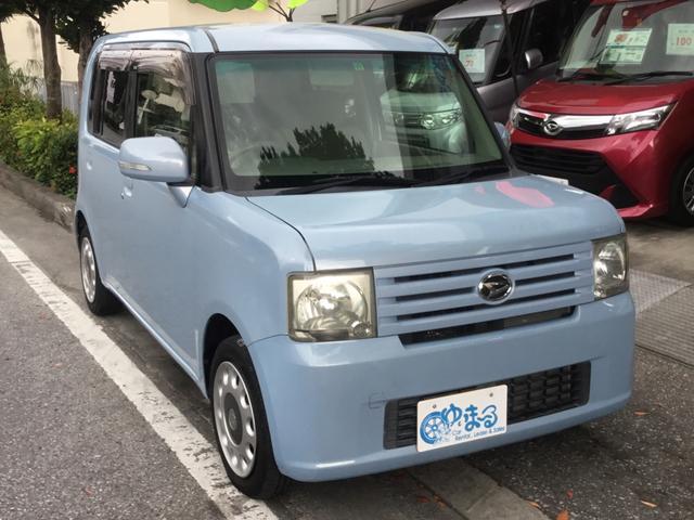 沖縄県浦添市の中古車ならムーヴコンテ X +S キーフリーキー・UVカットガラス・プライバシーガラス・盗難防止システム・保証付き