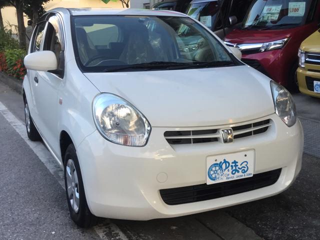沖縄県浦添市の中古車ならパッソ X Vパッケージ ETC・保証付き