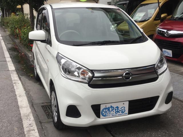 沖縄県浦添市の中古車ならデイズ J UVカットガラス・プライバシーガラス・保証付き