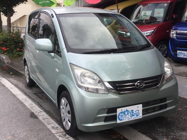 沖縄の中古車 ダイハツ ムーヴ 車両価格 34.8万円 リ済別 2010(平成22)年 6.8万km Lグリーン