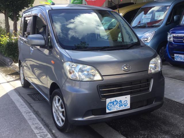 沖縄県の中古車ならタントエグゼ X スマートキー・UVカットガラス・プライバシーガラス・盗難防止システム・保証付き