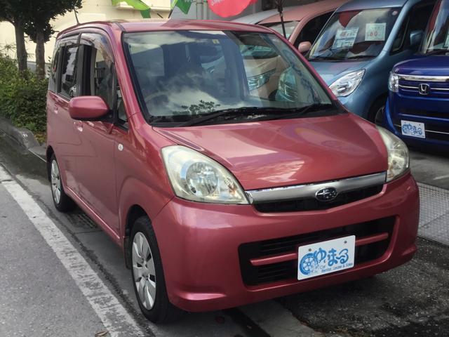 沖縄県浦添市の中古車ならステラ LX スマートキー・DVD対応オーディオ・バニティミラー・UVカットガラス・保証付き