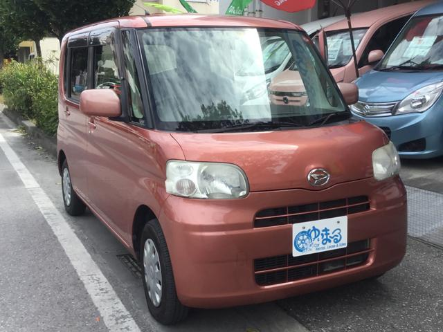沖縄県の中古車ならタント X 左スライドドア・スマートキー・UVカットガラス・プライバシーガラス・盗難防止システム・保証付き