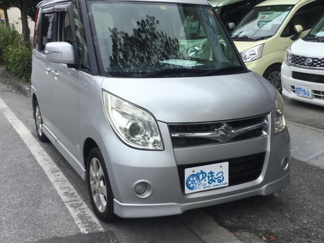 沖縄県の中古車ならパレット  左パワースライドドア・プッシュスタート・オートエアコン・純正ホイール・車検整備付き・保証付き