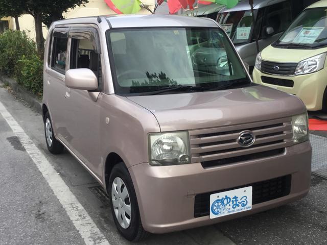 沖縄県浦添市の中古車ならムーヴコンテ L キーレスエントリー・ベンチシート・USB入力端子・AUX・CD・純正ホイール・車検整備付き・保証付き