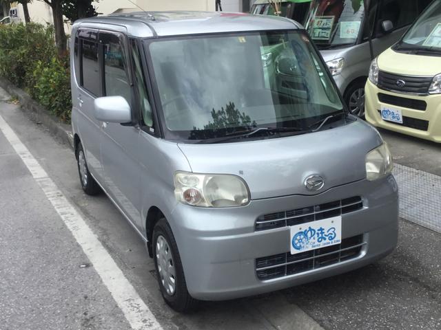 沖縄県浦添市の中古車ならタント X スマートキー・オートエアコン・CD・ベンチシート・純正ホイール・車検整備付き・保証付き
