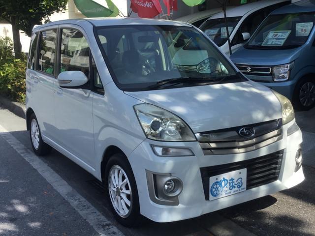 沖縄県の中古車ならステラ カスタムRリミテッド スマートキー・HID・オートエアコン・ETC・CD・AUX・ベンチシート・シートアンダートレイ・禁煙車・車検整備付き・保証付き