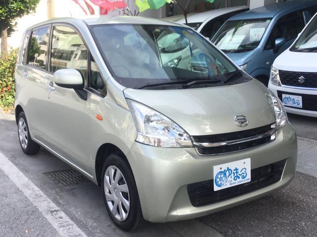 沖縄県の中古車ならムーヴ L アイドリングストップ・ナビ・ワンセグ・ETC・USB入力端子・オートエアコン・キーレスエントリー・禁煙車・レンタカーアップ・内地仕入れ・車検整備付き・保証付き