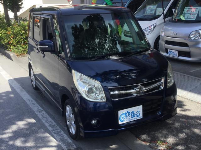 沖縄県浦添市の中古車ならパレット XS ナビ・ワンセグ・左パワースライドドア・スマートキー・HID・記録簿・衝突安全ボディ・ベンチシート・車検整備付き・保証付き