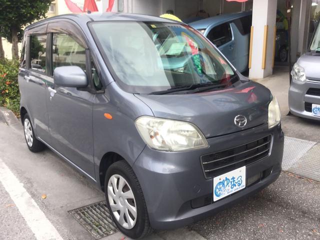 沖縄県の中古車ならタントエグゼ Xスペシャル キーレスエントリー・CD・USB入力端子・AUX・フルフラット・禁煙車・純正ホイール・車検整備付き・保証付き