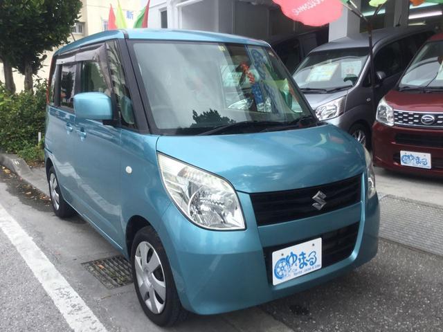 沖縄県の中古車ならパレット X スマートキー・プッシュスタート・左側パワースライドドア・オートエアコン・HID・AUX・禁煙車・記録簿・車検整備付き・保証付き