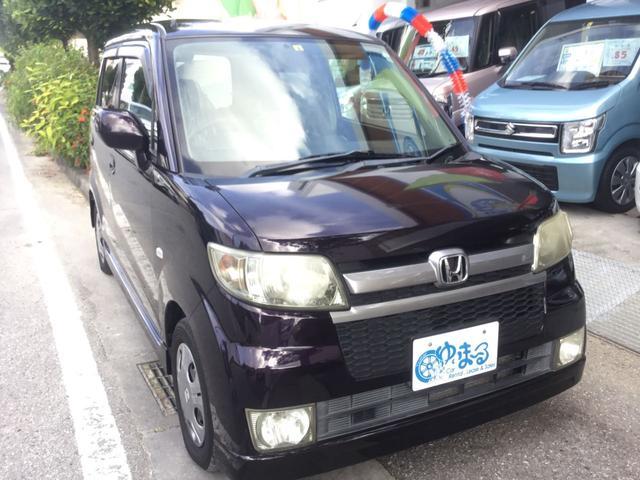 沖縄の中古車 ホンダ ゼスト 車両価格 19.8万円 リ済別 2007(平成19)年 11.0万km ブラックアメジストパール
