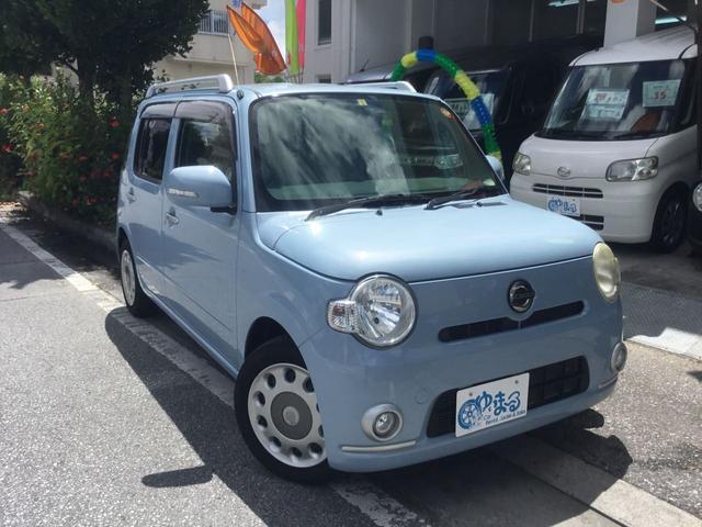 沖縄県の中古車ならミラココア ココアプラスX 上級グレード・スマートキー・フォグランプ・ルーフレール・オートエアコン・ベンチシート・車検整備付き・保証付き
