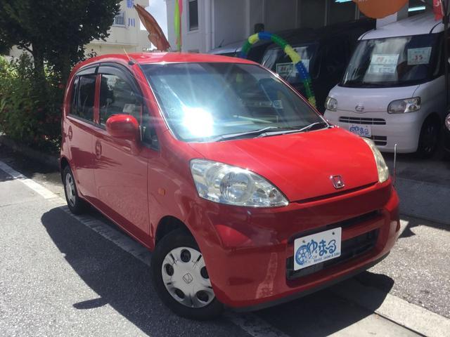 沖縄の中古車 ホンダ ライフ 車両価格 19.8万円 リ済別 2006(平成18)年 8.7万km フレームレッド