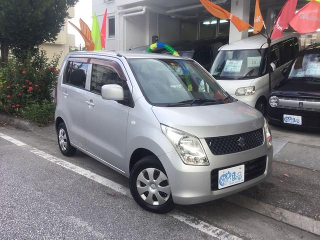 沖縄県の中古車ならワゴンR FX キーレス AM/FMチューナーオーディオ ベンチシート 純正ホイール フルフラット 車検整備付き 保証付き