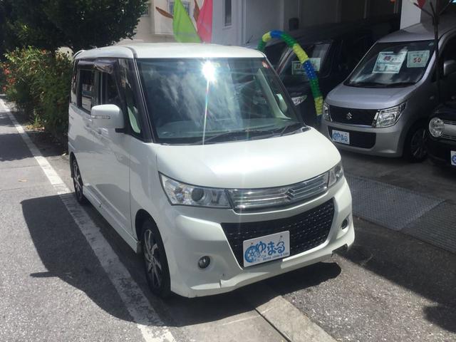 沖縄県浦添市の中古車ならパレットSW XS スマートキー プッシュスタートボタン 左側パワースライドドア HIDヘッドランプ フォグランプ AM/FMチューナーオーディオ USB ベンチシート フルフラット 車検整備付き 保証付き