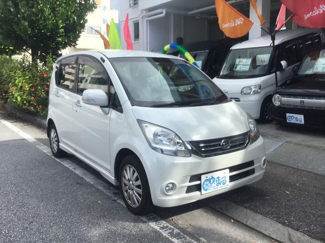 沖縄の中古車 ダイハツ ムーヴ 車両価格 27.8万円 リ済別 2010(平成22)年 9.2万km パールホワイトIII