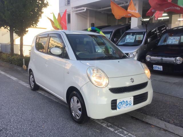 沖縄の中古車 スズキ MRワゴン 車両価格 14.8万円 リ済別 2008(平成20)年 13.5万km パールホワイト