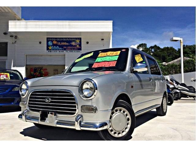 沖縄の中古車 ダイハツ ミラジーノ 車両価格 25万円 リ済別 平成14年 10.3万km シルバーメタリック