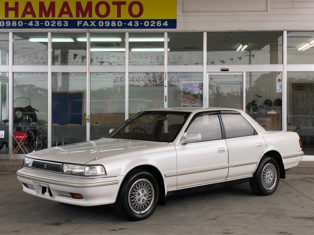 沖縄の中古車 トヨタ クレスタ 車両価格 49万円 リ済別 1992(平成4)年 16.4万km スーパーホワイトII