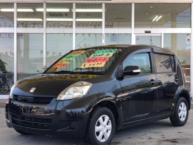 沖縄の中古車 トヨタ パッソ 車両価格 29万円 リ済別 平成20年 16.0万km ブラックマイカメタリック