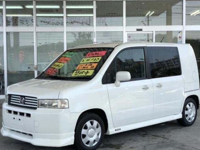 沖縄の中古車 ホンダ モビリオスパイク 車両価格 29万円 リ済別 平成14年 10.0万km ホワイト