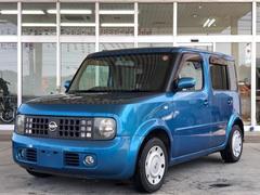 沖縄の中古車 日産 キューブ 車両価格 29万円 リ済別 平成16年 12.0万K クリスタルブルーM