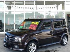 沖縄の中古車 日産 キューブキュービック 車両価格 29万円 リ済別 平成19年 13.0万K ビターショコラP