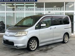 沖縄の中古車 日産 セレナ 車両価格 39万円 リ済別 平成17年 11.0万K ダイヤモンドシルバーM