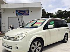 沖縄の中古車 日産 ラフェスタ 車両価格 29万円 リ済別 平成17年 13.0万K ホワイトパール