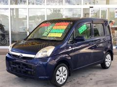 沖縄の中古車 スバル ステラ 車両価格 39万円 リ済別 平成22年 9.0万K アジュールブルーパール