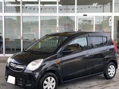 沖縄の中古車 ダイハツ ミラ 車両価格 29万円 リ済別 平成21年 8.0万K ブラックマイカメタリック