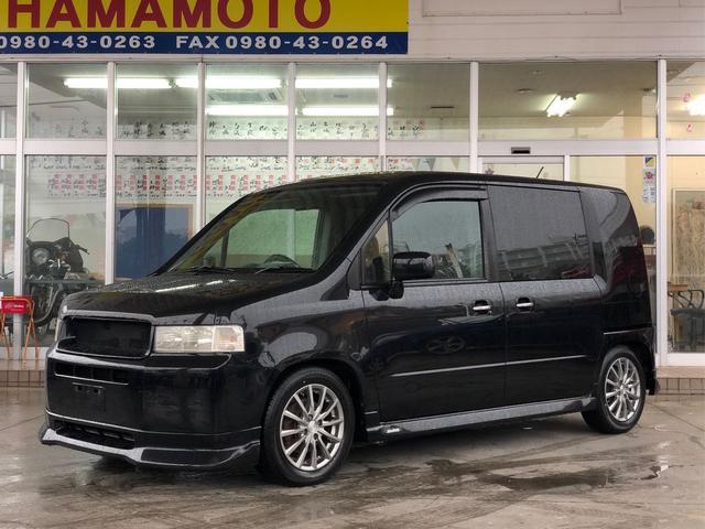 沖縄の中古車 ホンダ モビリオスパイク 車両価格 35万円 リ済別 平成15年 9.2万km ブラックM