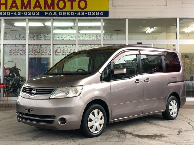 沖縄の中古車 日産 セレナ 車両価格 35万円 リ済別 2005(平成17)年 14.1万km ガンM