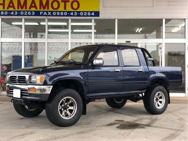 沖縄県の中古車ならハイラックスピックアップ ダブルキャブ SSR-X