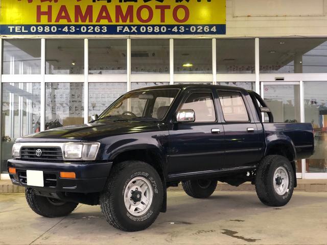 沖縄県の中古車ならハイラックス WキャブSSR-X