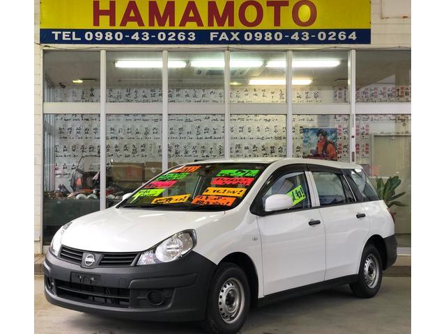 沖縄の中古車 日産 AD 車両価格 38万円 リ済別 2015(平成27)年 8.5万km ホワイト